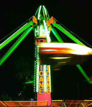 Big O Midway at Night